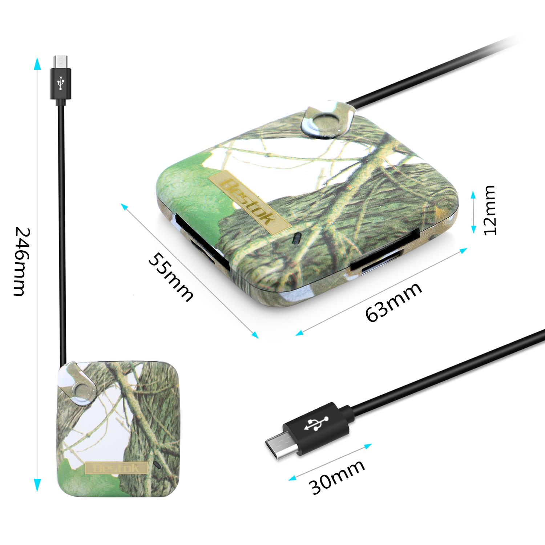bestok cv800 trail   scouting   game camera viewer sd hc